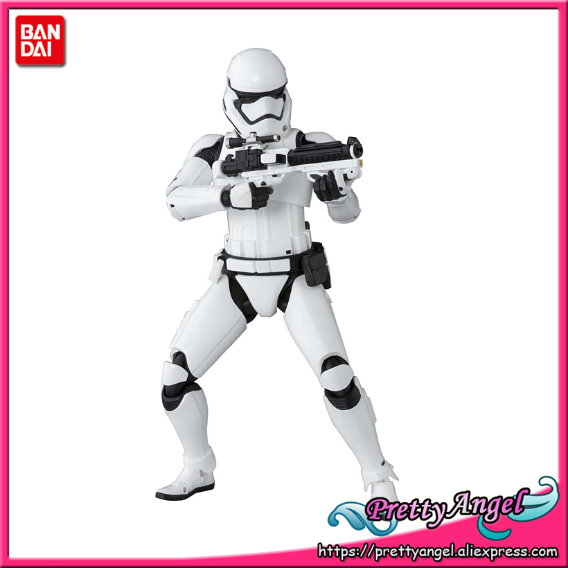 PrettyAngel - Genuine Bandai S.H.Figuarts First Order Stormtrooper The Force Awakens Action Figure