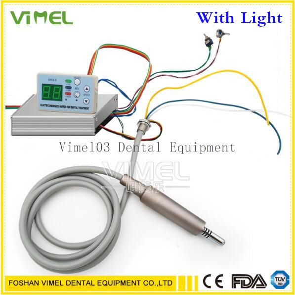 Dental unit built in Brushless Electric Micro motor Cord FIT NSK NLX NANO inner water spray