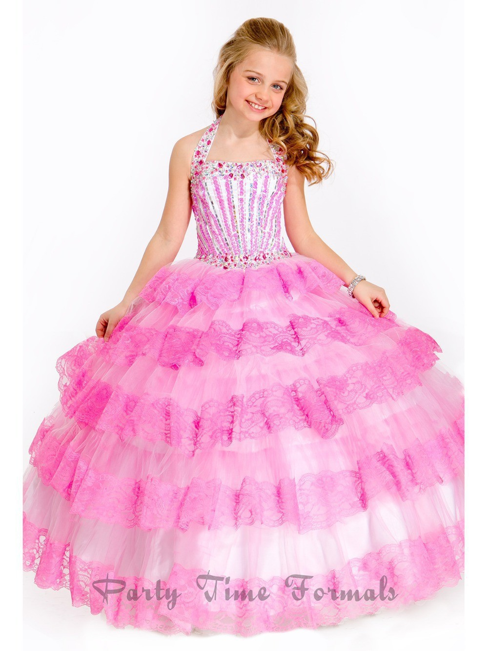 Popular Pink Pageant Dress-Buy Cheap Pink Pageant Dress lots from ...