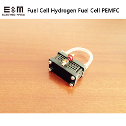 1W célula de combustible de respiración de aire PEMFC pila de combustible de hidrógeno membrana de intercambio de protones PEMs