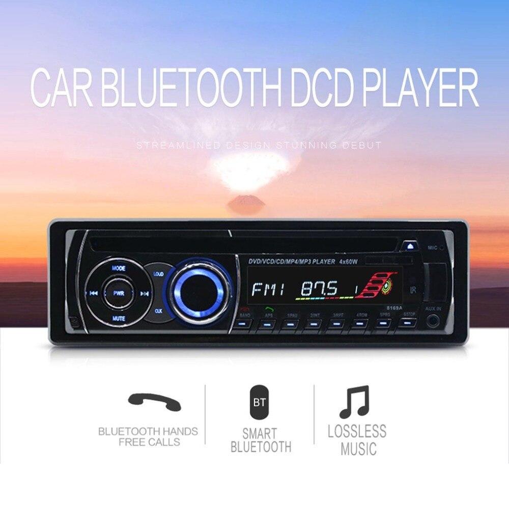 8169A haute définition universel Double DIN LCD voiture stéréo GPS Sat Navogation 4G Radio lecteur multimédia