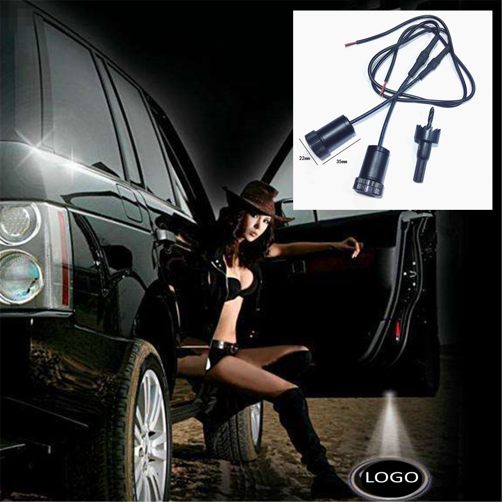 JingXiangFeng Welcome Light Car Door Courtesy Ghost Shadow LOGO Projector Laser For Land Rover Discovery