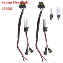 Universal 2PCS/Set 55W H1 HID Xenon Headlight Bulbs Conversion KIT 4300K + Ballasts for Car