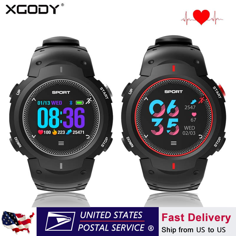 Aliexpress com : Buy XGODY Smart Watch 5ATM Waterproof Bluetooth Smartwatch  Blood pressure Pedometer Calorie Reminder Fitness Tracker For iOS Android