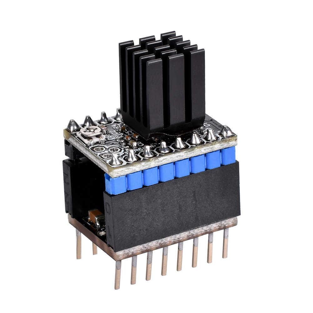 BIQU 3D Printer Silent Step Stick Protector Stepper Motor Drive Away Grain  Filter for TMC2208 TMC2130 SPI TMC2100 A4988