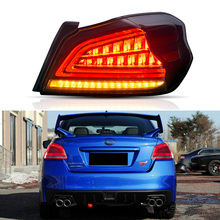 LED Tail Light Assembly for Subaru WRX 2013- 2016 2017 2018 Reverse Sequential Turning Signal
