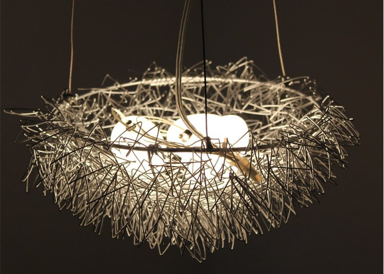 Free Shipping Wholesales Bird Nest Light Chandelier