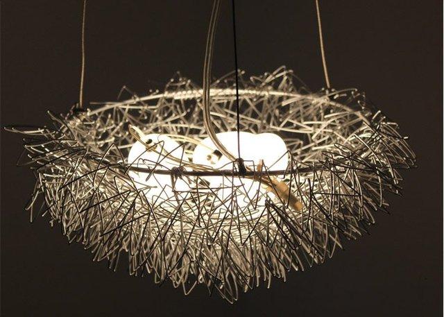 Free Shipping Wholes Bird Nest Light Chandelier Pendant Lamp Residential Lighting