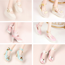Dream Fairy 1/3 Dolls Shoes Cute PU Shoes Suitable for 60cm Ball Jointed Dolls Girls DIY Dolls SD MSD Accessories Multiple Color