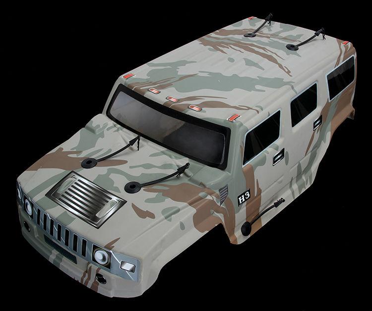 1/5 масштаб 4x4 BM тело только для 1/5 ROVAN большой Монстр RC грузовик - Цвет: Коричневый