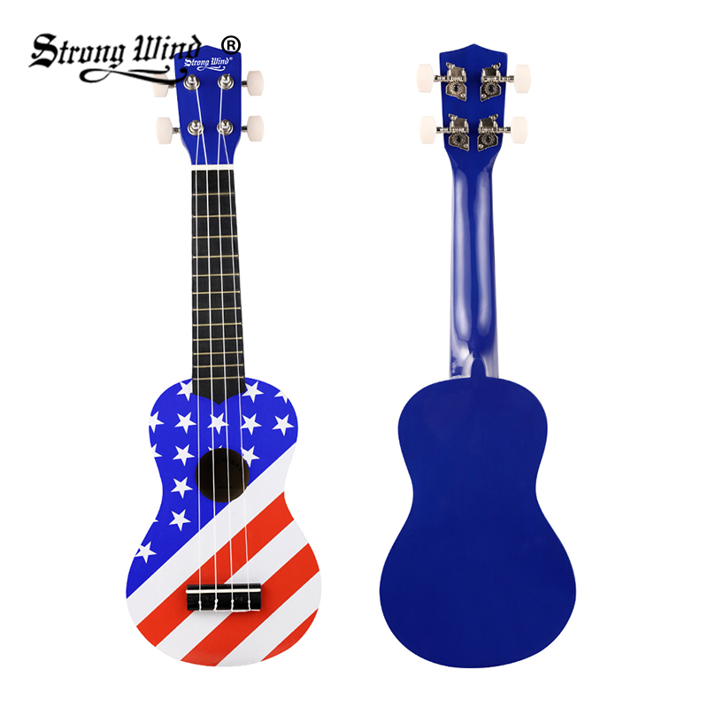 Strong Wind 21 Inch Ukulele Multi Soprano Mini Acoustic