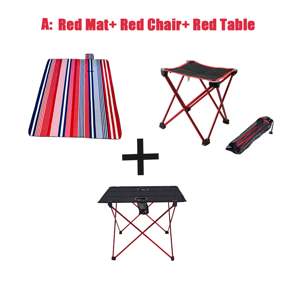 portatil leve duravel a prova dlightweight agua piquenique cobertor esteira dobravel acampamento roll up mesa no
