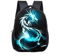 ccca4ca5aefbd 12 Inç Sırt çantası. 12 Inch Animals Dinosaur Backpacks 3D Dinosaur School  Bags Baby Backpack For Children Kids Magic Dragon