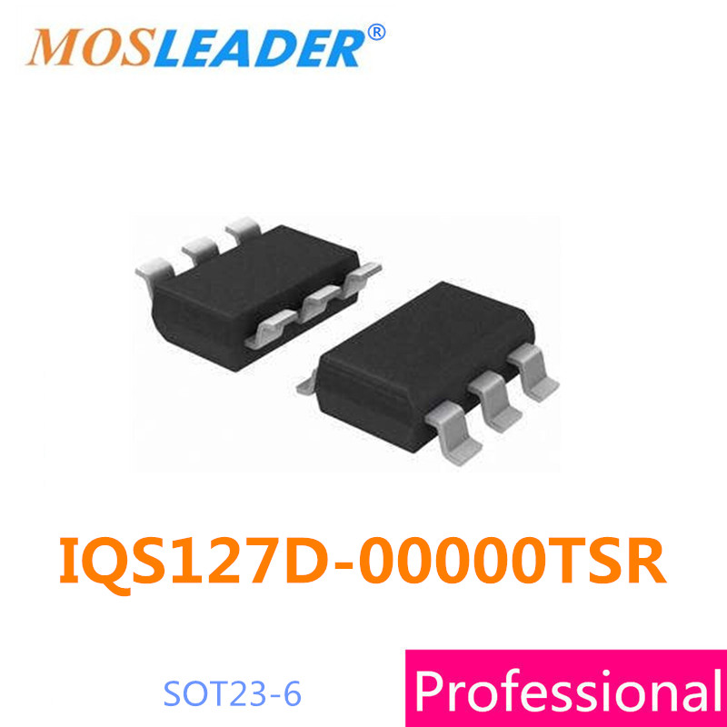 smd IQS127D-00000TSR 50PCS 100PCS 500PCS IQS127D SOT23-6 Single Channel Capacitive Proximity/Touch Controller tps2553dbv 2553 sot23 6