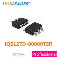 smd IQS127D 00000TSR 50PCS 100PCS 500PCS IQS127D SOT23 6 Single Channel Capacitive Proximity/Touch Controller
