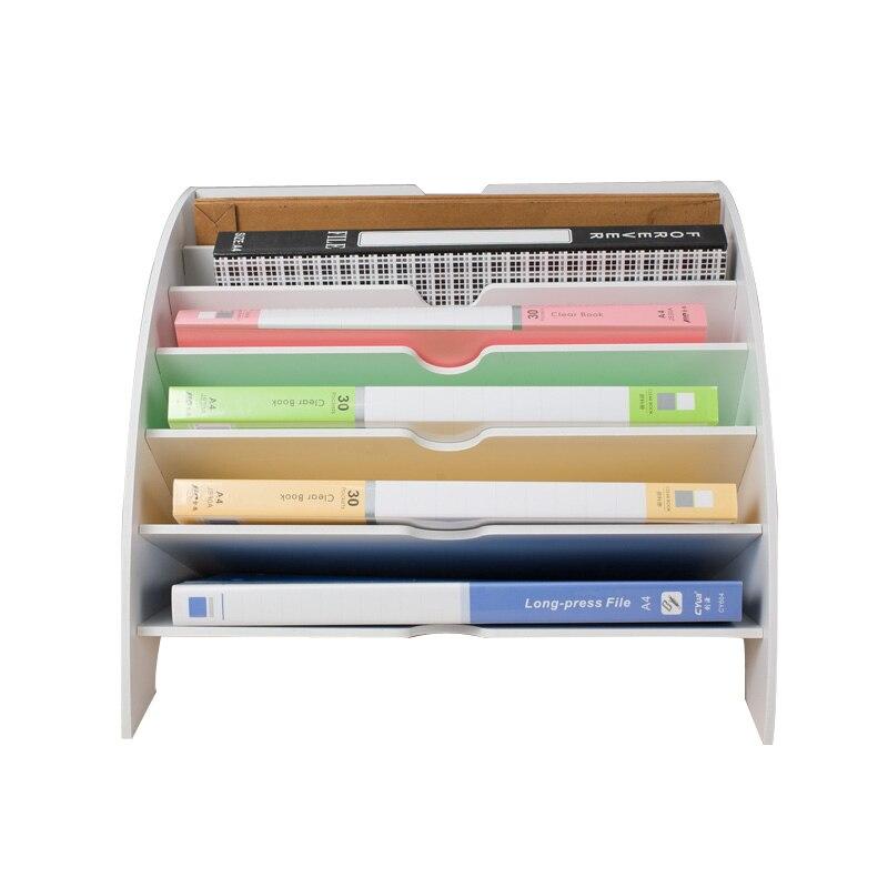 A4 Magazine Holder Organizers File Storage Box Desk Accessories File Holder Magazine Joy Corner