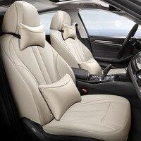 custom car seat cover for Peugeot 307 CC 407 206 207 3008 2008 301 206 CC 308 SW 607 4008 5008 307SW 508 308 408 car accessoires