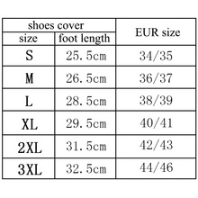 JACKSHIBO Reusable Waterproof Overshoes Shoe Covers Shoes Protector Men&Women's&Children Rain Cover for Shoes Accessories