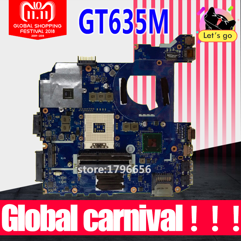 For ASUS K45VM K45VD A45V K45VJ K45VS A85V P45VJ QCL40 LA-8221P REV1.0 GT630M/GT635M/ 2G Laptop Motherboard System Mainboard huimei city rail car diy model big building blocks bricks baby early educational learning gift toys for kids children