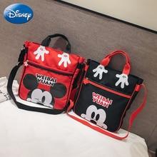 2019 Disney Kids Backpack New Mickey Mouse Oxford Cute Boy Girl Backpacks Cartoon Kindergarten Bags Plush Bag