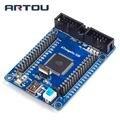 Плата разработки ATmega128, AVR макетная плата, обучающая плата, минимальная системная основная плата
