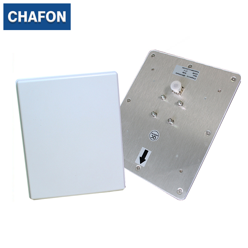 CHAFON 860~868MHz IP55 ABS rfid 6dBi UHF antenna Circular polarization for warehouse management 865 868mhz or 902 928mhz customized abs material waterproof linear circular polarization high gain 12dbi rfid uhf antenna