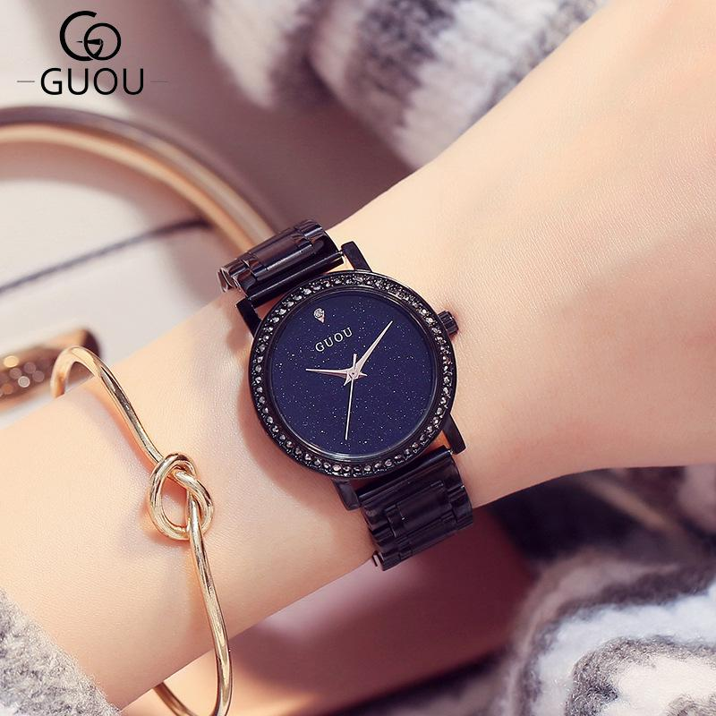 Women Watches Creative Watch 2018 Luxury Lady Rhinestone Clock Full Steel Watchband Quartz Wristwatches Hot zegarek damski fashion watch women watches stainless steel unique simple watches casual quartz wristwatches clock hot sale zegarek damski 4fn