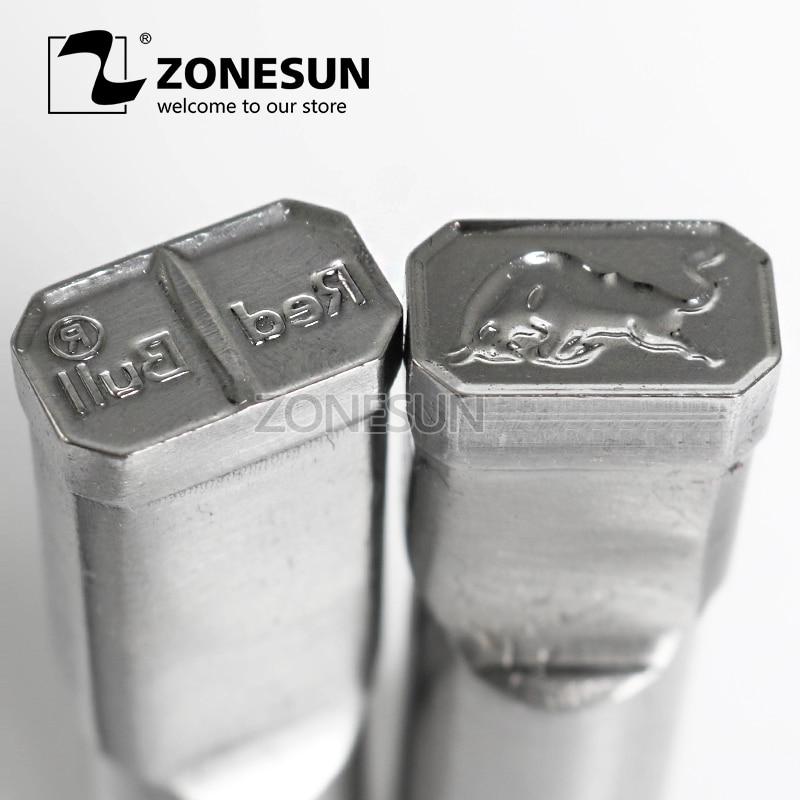 ZONESUN Bull Logo Personnalisé Bonbons Sucre Lait Timbre Poinçon de Moule Tablet Presse Outil Poinçon Presse Die TDP 0/1. 5/3/5 pour Machine