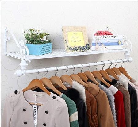 100% Металлический стеллаж для Одежды, коммерческая мебель, белый черный, бронзовый вешалка, обувь дисплей, Спальня мебель, шкаф