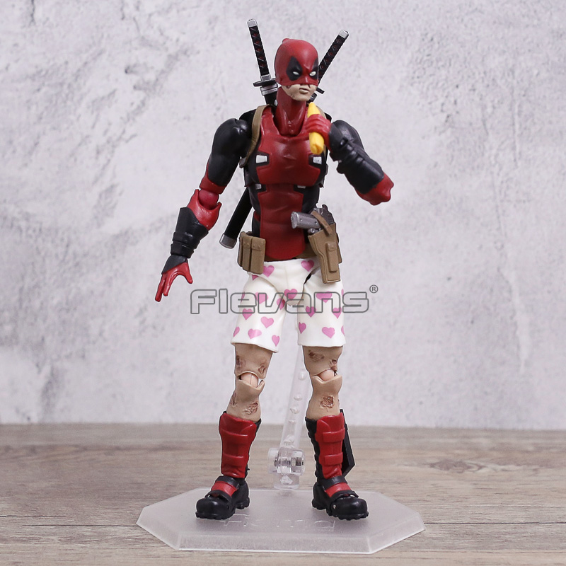 Figma EX-42 X-Men Deadpool DX Ver PVC Action Figure Toy Collection Gifts