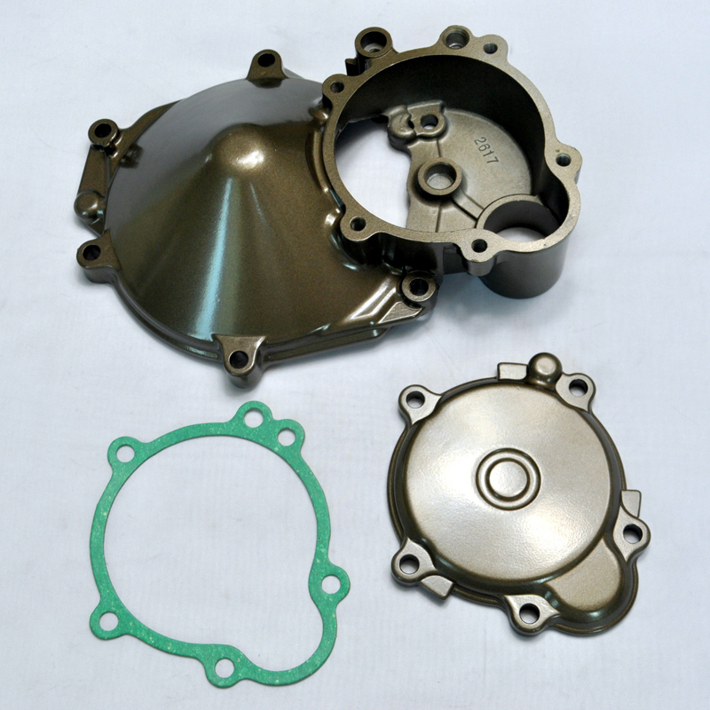 Motorcycle Parts Engine Stator Cover Crankcase With Gasket For Kawasaki ZX10R 2004 2005 ZX-10R ZX 10R 04 05 NEW jiangdong engine parts for tractor the set of fuel pump repair kit for engine jd495