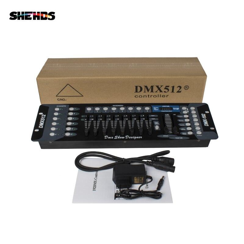 Livraison gratuite nouveau 192 DMX contrôleur DJ équipement DMX 512 Console éclairage de scène pour LED Par projecteurs à tête mobile contrôleur DJ - 6