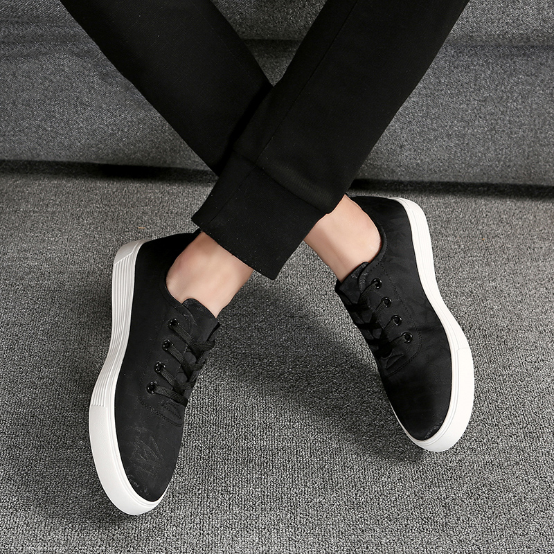 MYCORON/парусиновые ботинки, Мужская Роскошная модная повседневная обувь, дышащая износостойкая удобная обувь на шнуровке, zapatos hombre