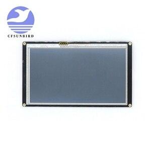 """Image 2 - NX8048K050 5.0 """"Nextion Tăng Cường Màn Hình HMI Thông Minh Thông Minh USART UART Nối Tiếp Cảm Ứng TFT LCD Module Bảng Điều Khiển Màn Hình Cho Raspberry Pi bộ"""