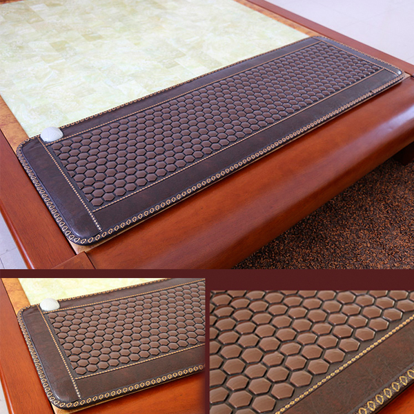 Best Selling Tourmaline Germanite Jade Products Korea Thermal Jade Mattress Sofa Jade Mat Infrared Heating Mat Free Shipping free shipping germanite pad heating mattress sofa cushion thermal brown six corner ocher mat 0 5 1 5m 220v