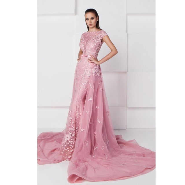 Terbaru Diimpor Pink Gaun Pengantin Barat Wedding Dresses Standar