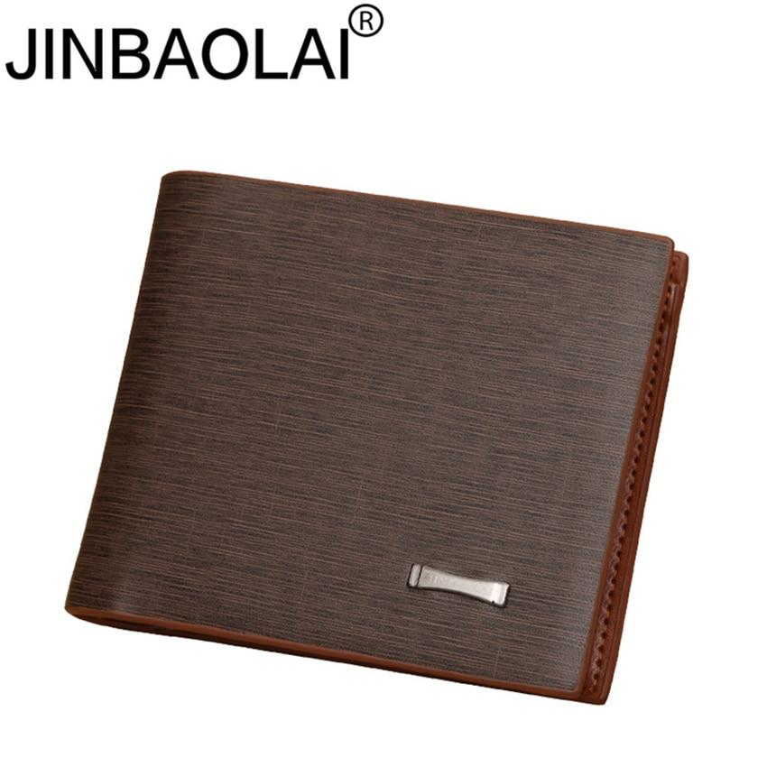 Slim Short Designer Luxury Brand Small Walet Cuzdan Vallet Fashion Men Wallet Male Purses Bag Card Holder Money Coins Portomonee
