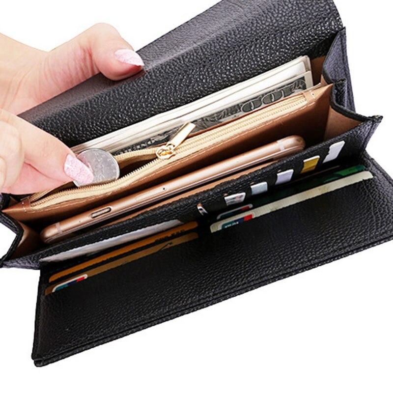 bifold carteira de couro da Peso do Item : 77g