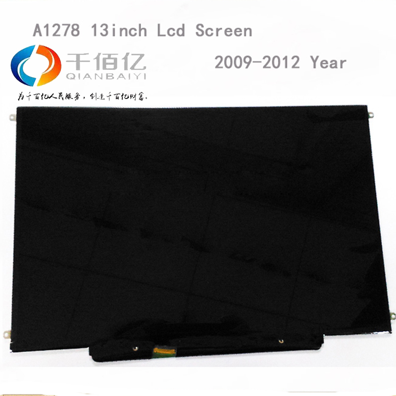 Original 100% new A1278 lcd screen for Macbook Pro A1278 13'' lcd Panel 2009 2010 2011 2012 Year replacement дуги безопасности для мотоцикла suzuki gsxr1000 05 06 k5 gsxr600 750 04 05 k4 cnc