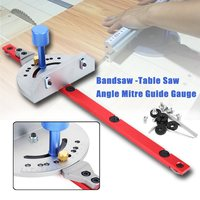 Miter Gauge Wood Working Tool For Bandsaw Table Saw Router Angle Miter Gauge Guide Fence Woodworking