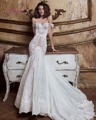 Dreagel New Arrival Hot Sale Sweetheart Neckline Lace Up Mermaid Wedding Dress 2017 Chic Appliques Court Train Vestido de Noiva