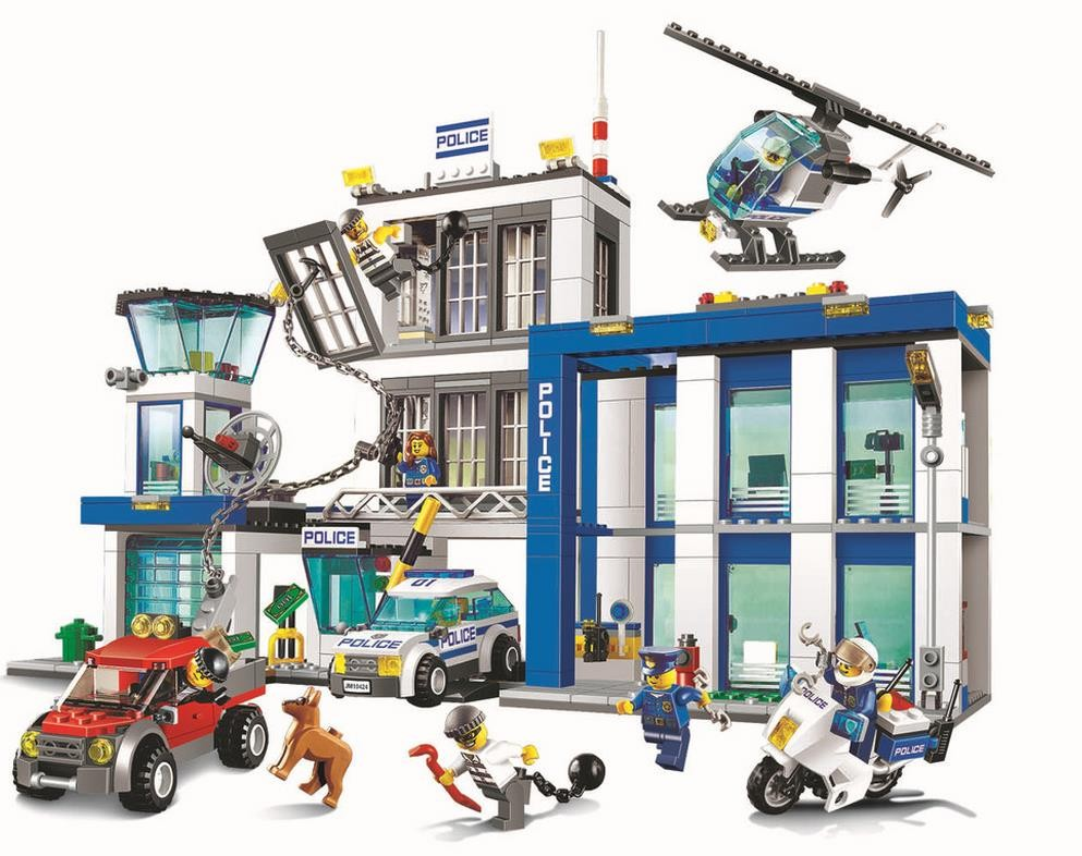 2016 NEW BELA City series the Police Station model building blocks children's Classic toys Compatible with Lepin 60047 new 7033 friends series the city park cafe pirate ship model building block classic girl toys compatible with lepin