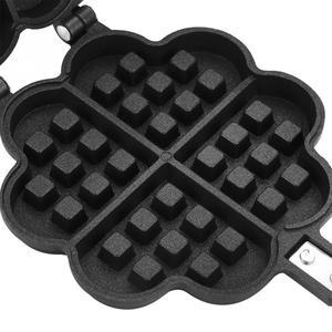 Image 5 - Tự Làm Chiên Trứng Hình Trái Tim Máy Làm Bánh Waffle Bánh Khuôn Bánh Chảo Chống Dính 2 Mặt Bánh Quy Muffin Khuôn Mẫu Nồi Máy Nướng Làm Bánh dụng Cụ