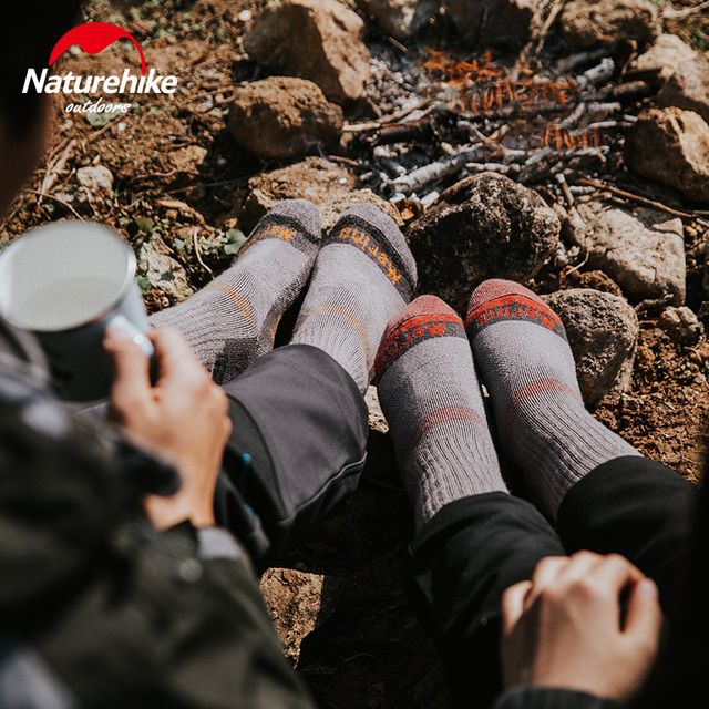 NatureHike Male wool socks Hiking 8