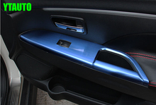 For Mitsubishi ASX 2013-2016 Armrest trim the inner door handle trim  stainless steel ,auto accessories