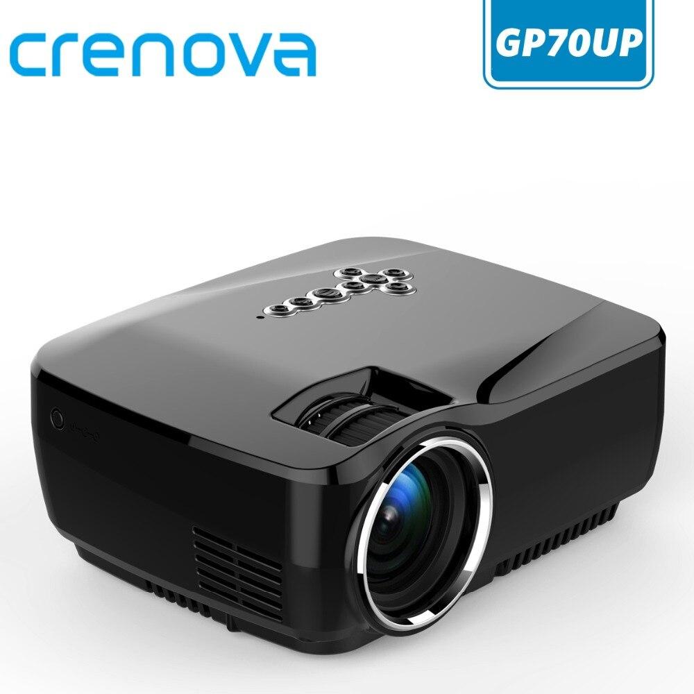CRENOVA Mini Proiettore per Full HD 1920*1080 Con Il WIFI Bluetooth Versione di Android Ha Condotto Il Proiettore Per Home Theater Film beamer
