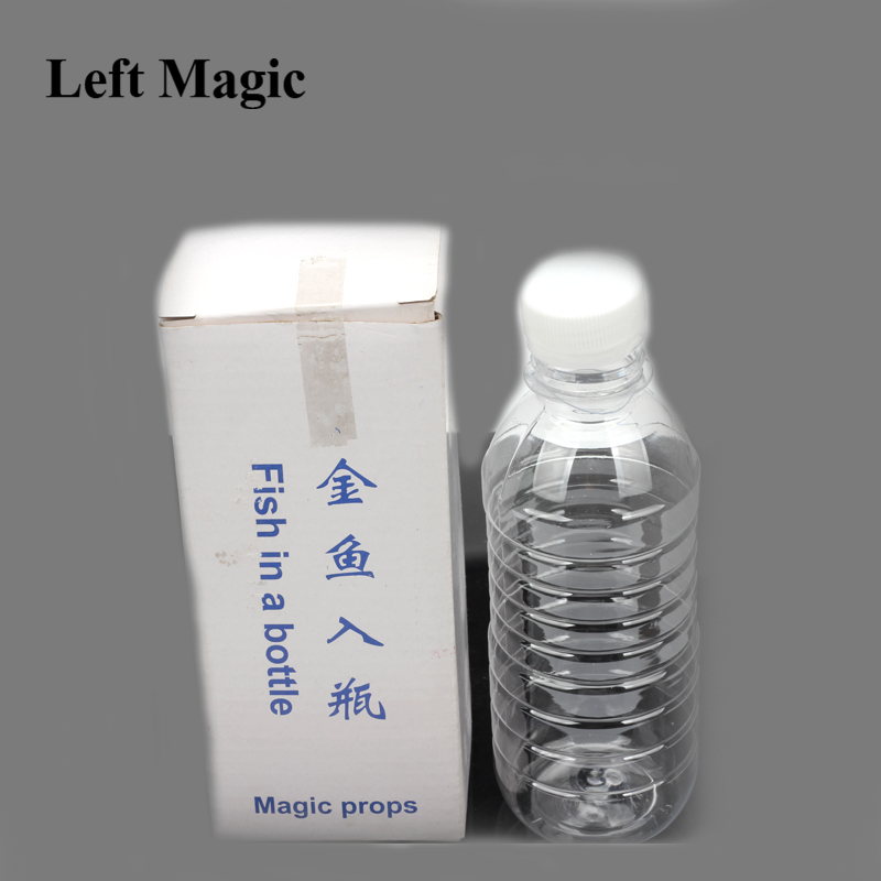 Close-Up Magic Stage Trick Fish In A Bottle Incredible Penetration Instant