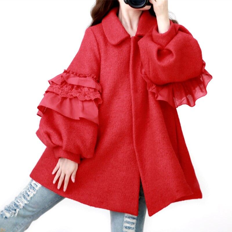 Manteau femme style princesse
