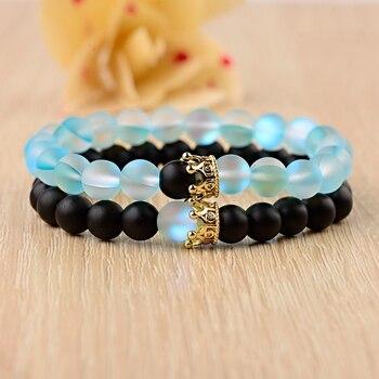 Bracelet Quartz Aura Pour Couple