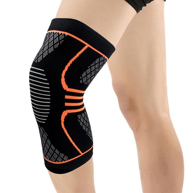 Toms Hug marque Sport genou soutien protecteur manches genouillère 1 pièces Fitness course cyclisme bretelles haute élastique Gym genouillère chaud
